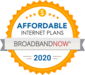 #1 Most Affordable  Broadband Plans Nationwide