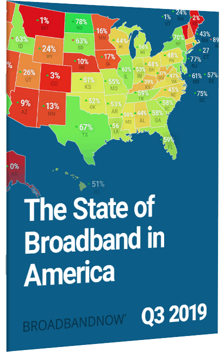 The State of Broadband in America, Q3 2019