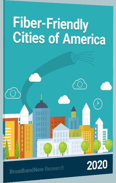 Fiber-Friendly Cities of America