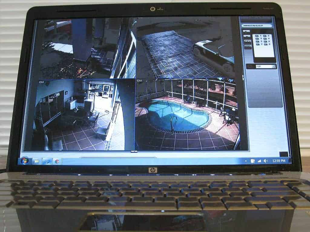 Use the Internet to pipe security footage to your laptop or smartphone anywhere in the world.