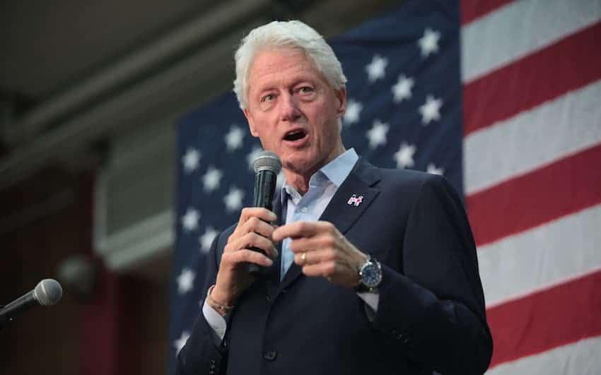 Bill Clinton Speaking.
