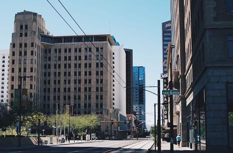 Street in Phoenix, Arizona