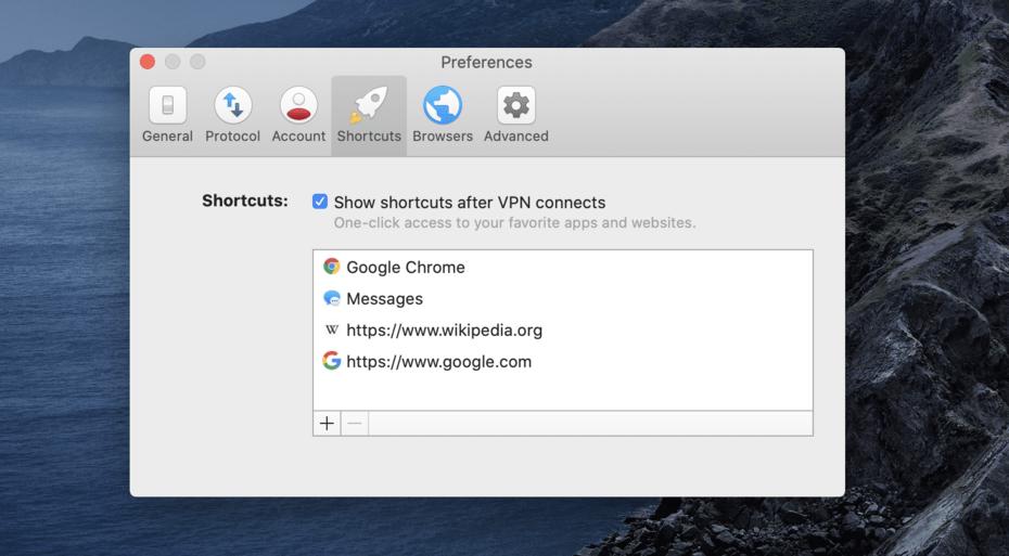 ExpressVPN Shortcuts