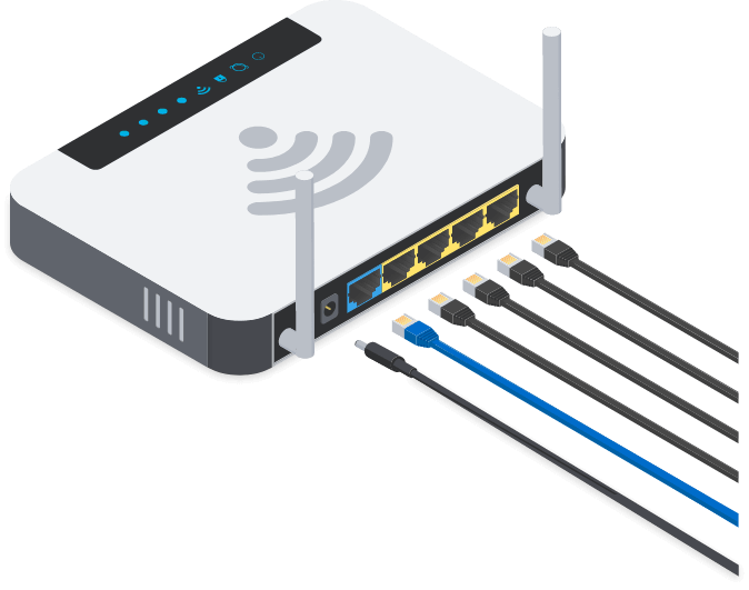 Disconnect the Router