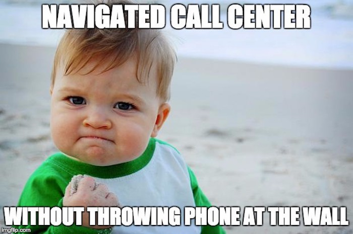 meme about cable call centers