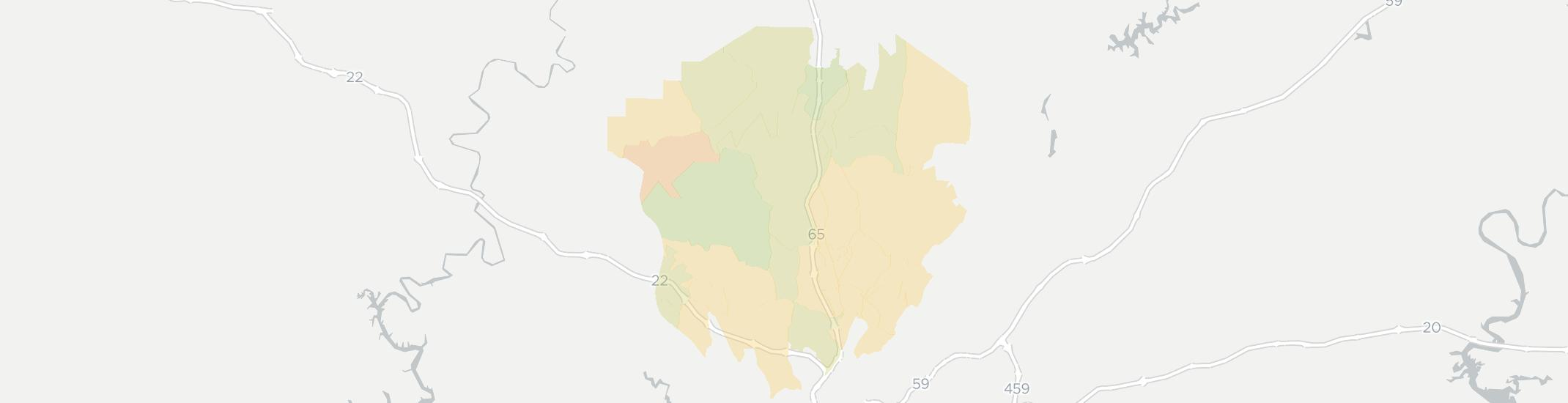 Gardendale Internet Competition Map. Click for interactive map.