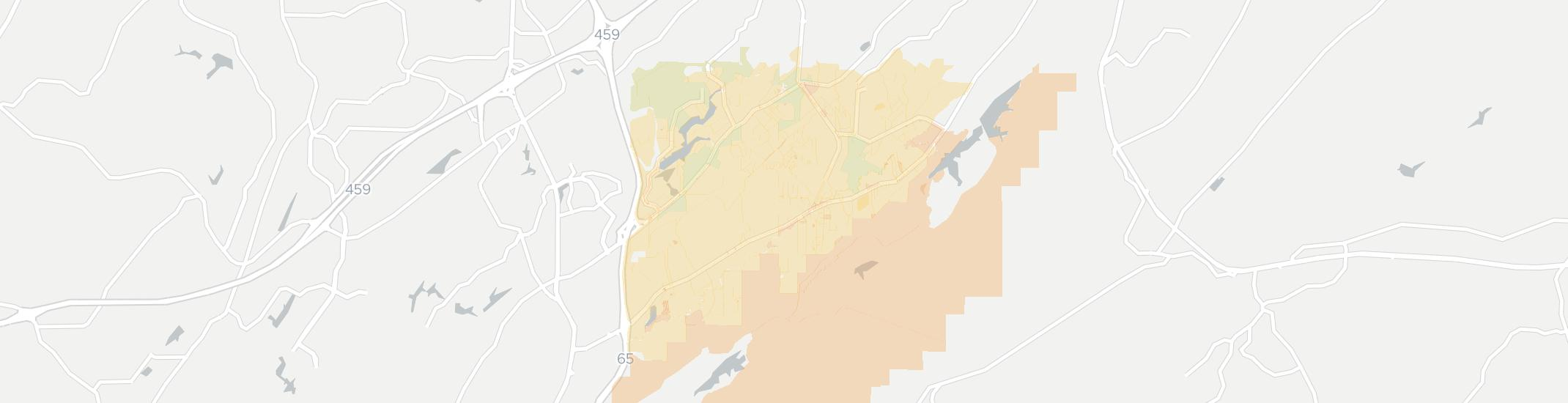 Indian Springs Village Internet Competition Map. Click for interactive map.