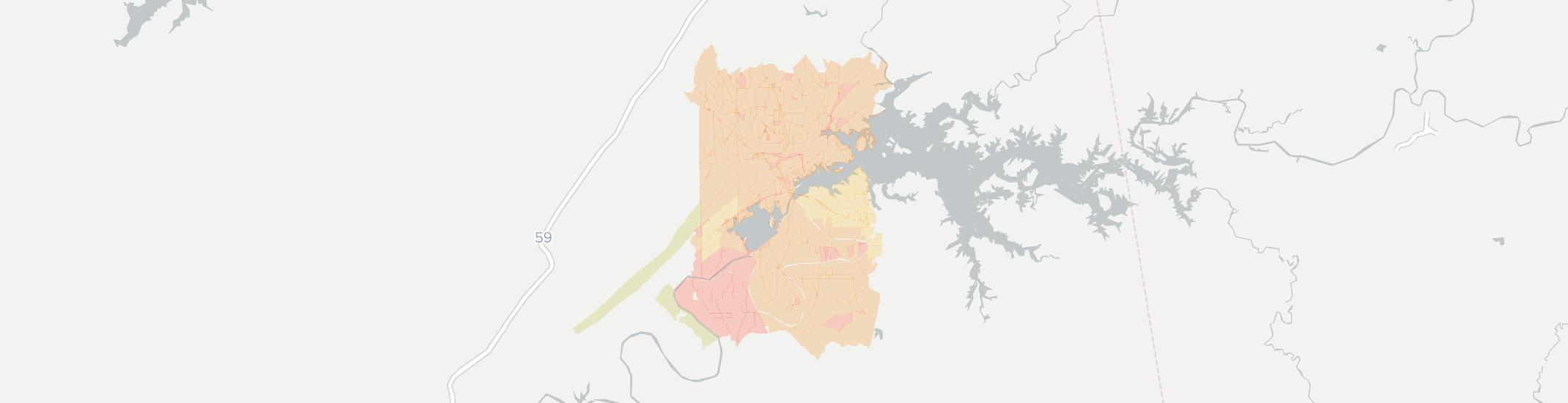 Leesburg Internet Competition Map. Click for interactive map.