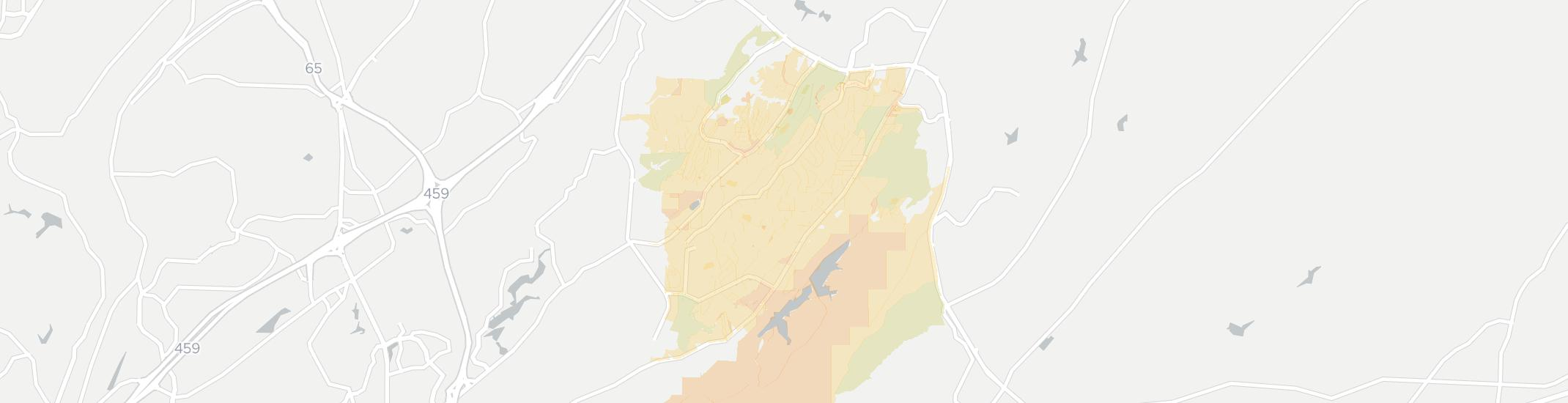Meadowbrook Internet Competition Map. Click for interactive map.