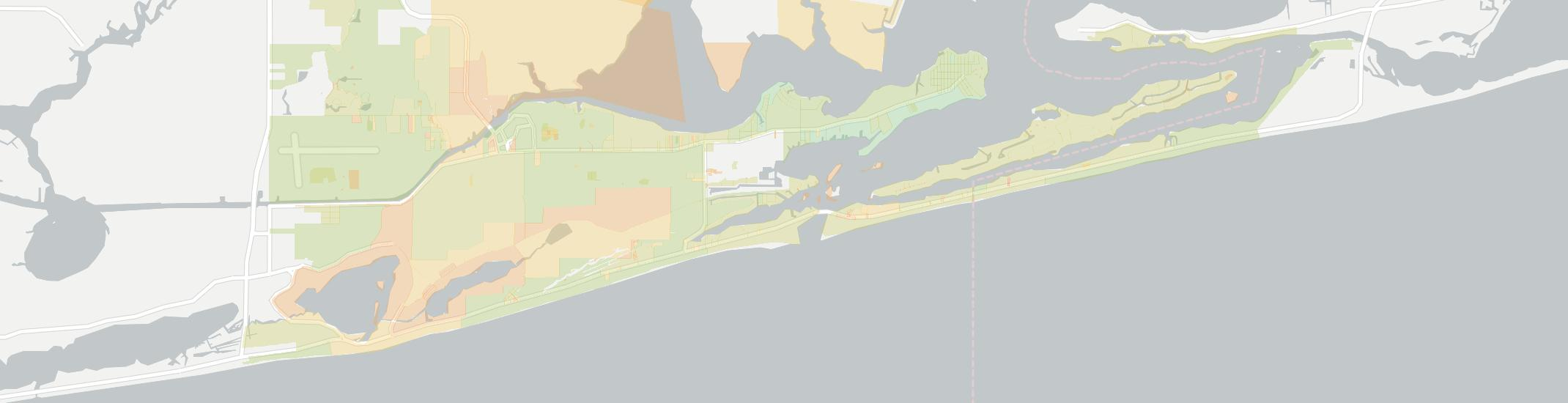Orange Beach Internet Competition Map. Click for interactive map.