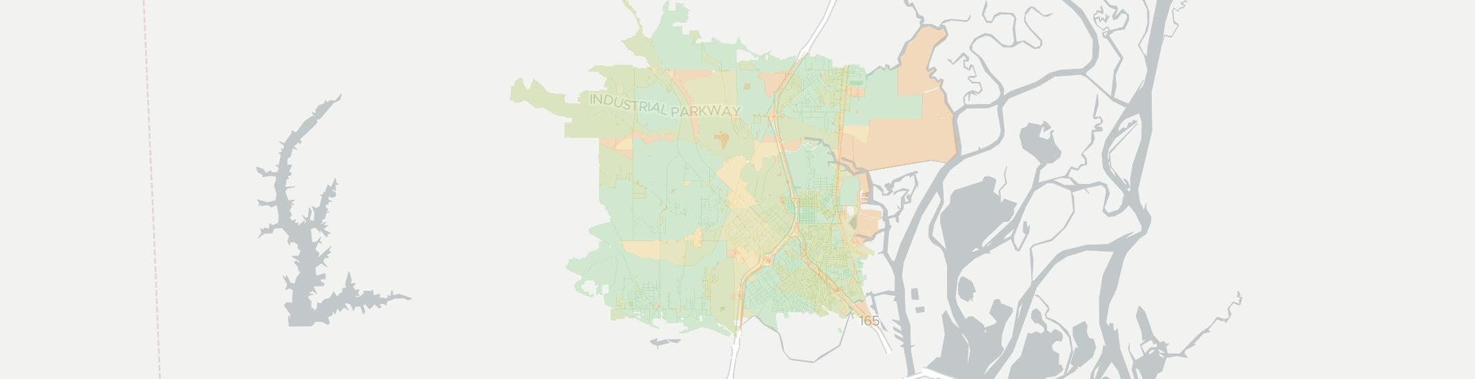 Prichard Internet Competition Map. Click for interactive map.