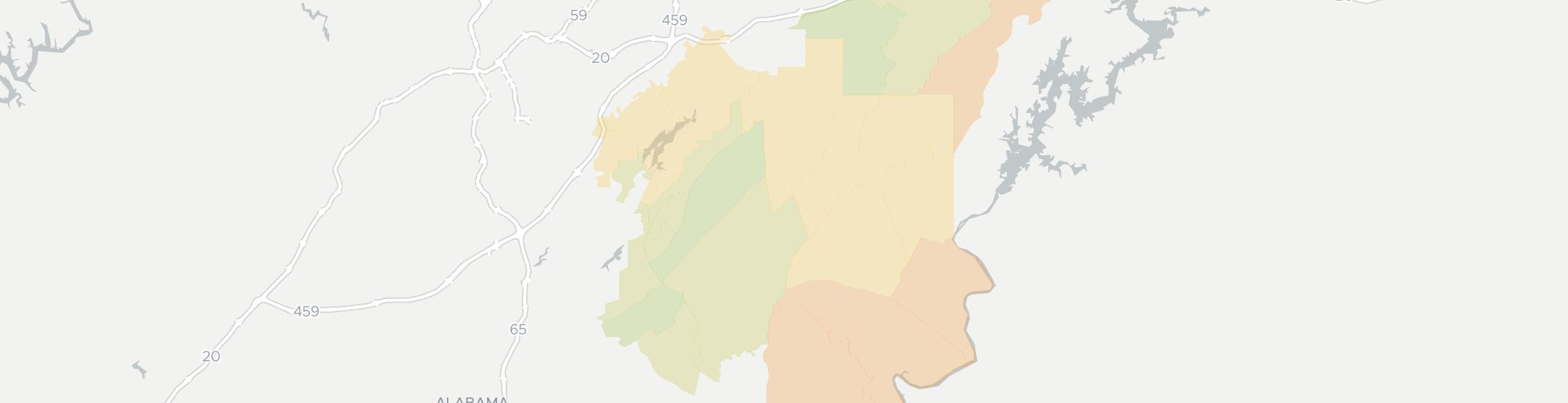 Sterrett Internet Competition Map. Click for interactive map.