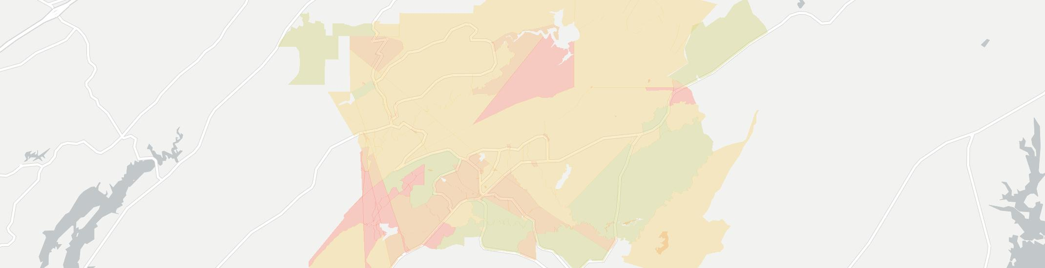 Vandiver Internet Competition Map. Click for interactive map.