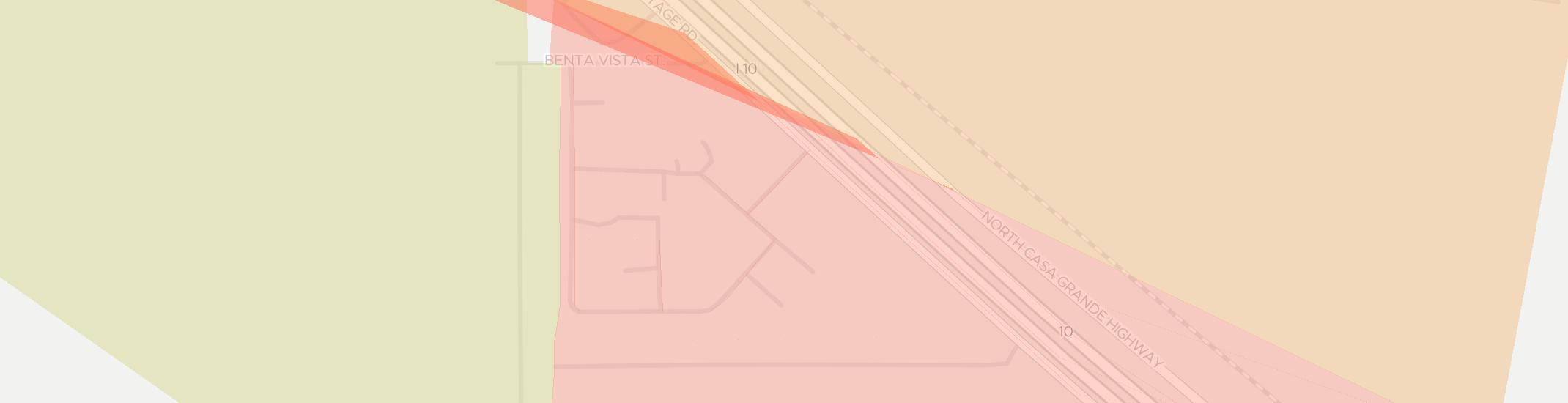 Rillito Internet Competition Map. Click for interactive map.