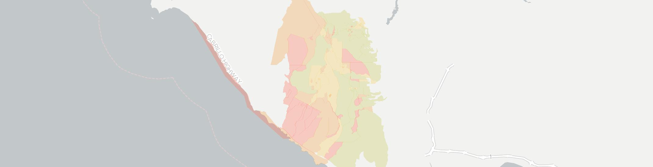 Bonny Doon Internet Competition Map. Click for interactive map.