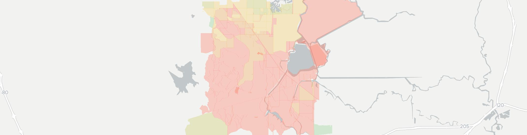 Byron Internet Competition Map. Click for interactive map.