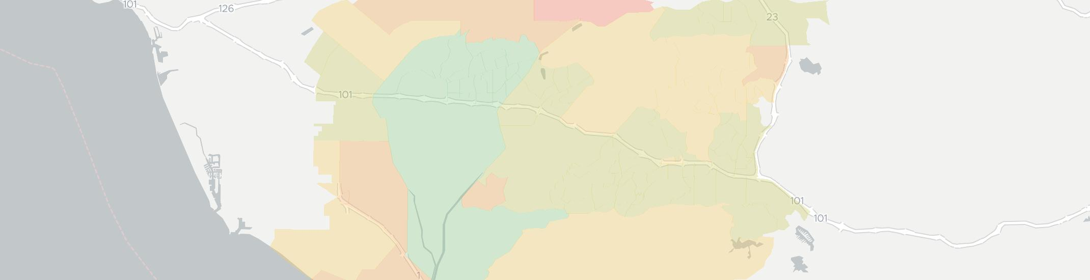 Camarillo Internet Competition Map. Click for interactive map.