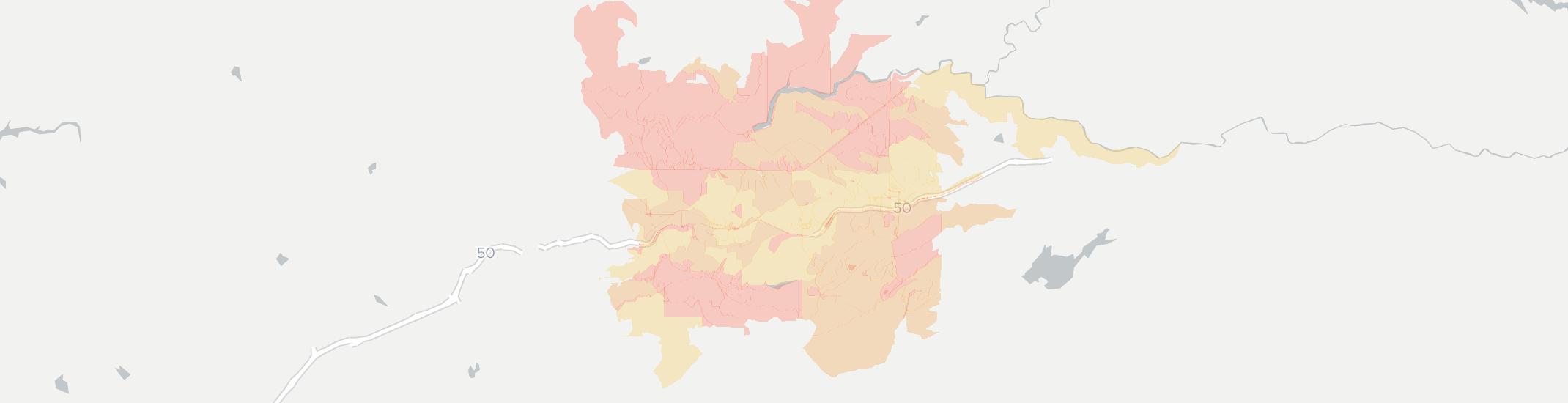 Camino California Map on