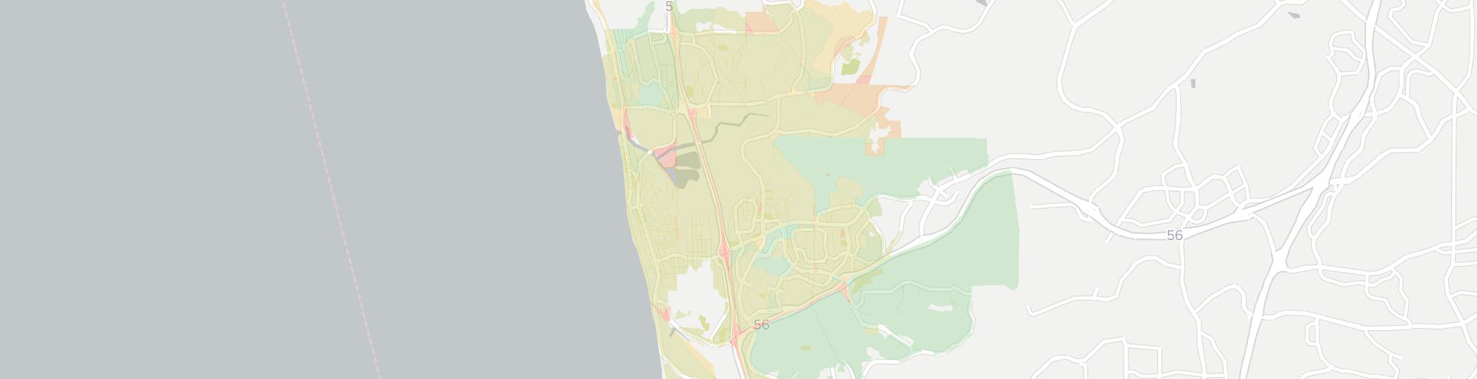 Del Mar Internet Competition Map. Click for interactive map.