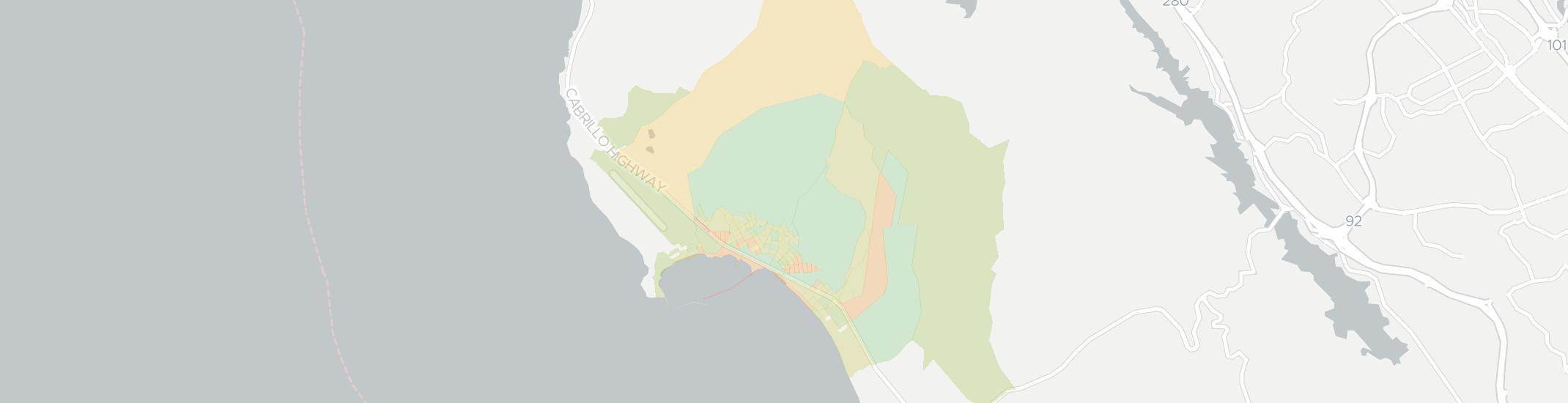 El Granada Internet Competition Map. Click for interactive map.
