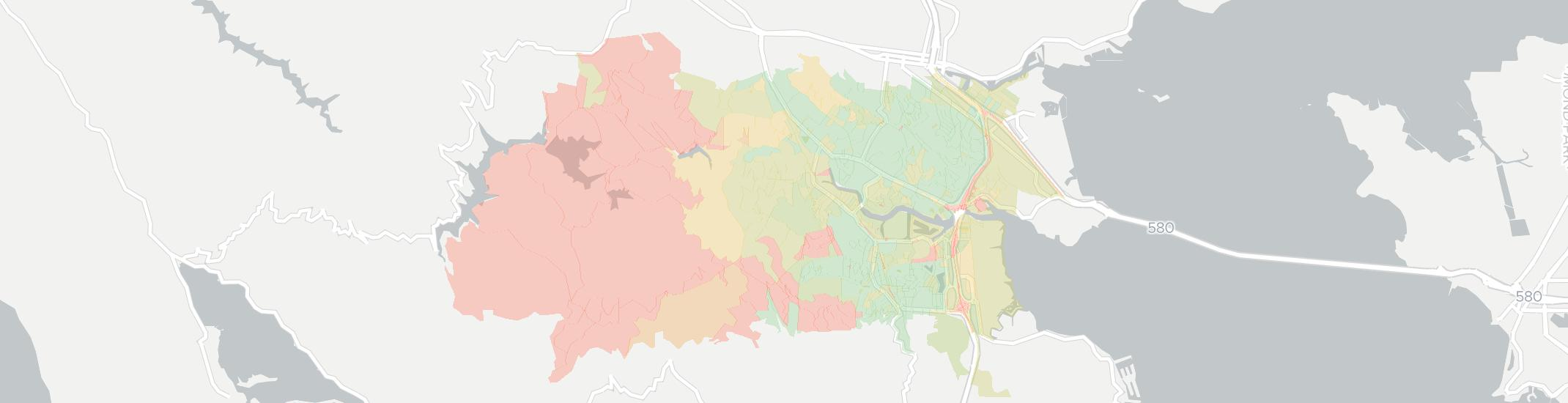 Greenbrae Internet Competition Map. Click for interactive map.