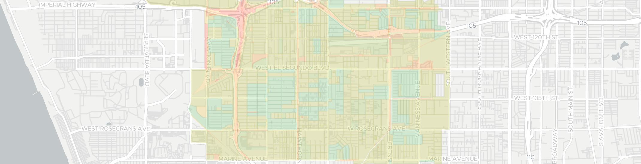 Hawthorne California Map.7 Best Internet Service Providers In Hawthorne Ca Aug 2019