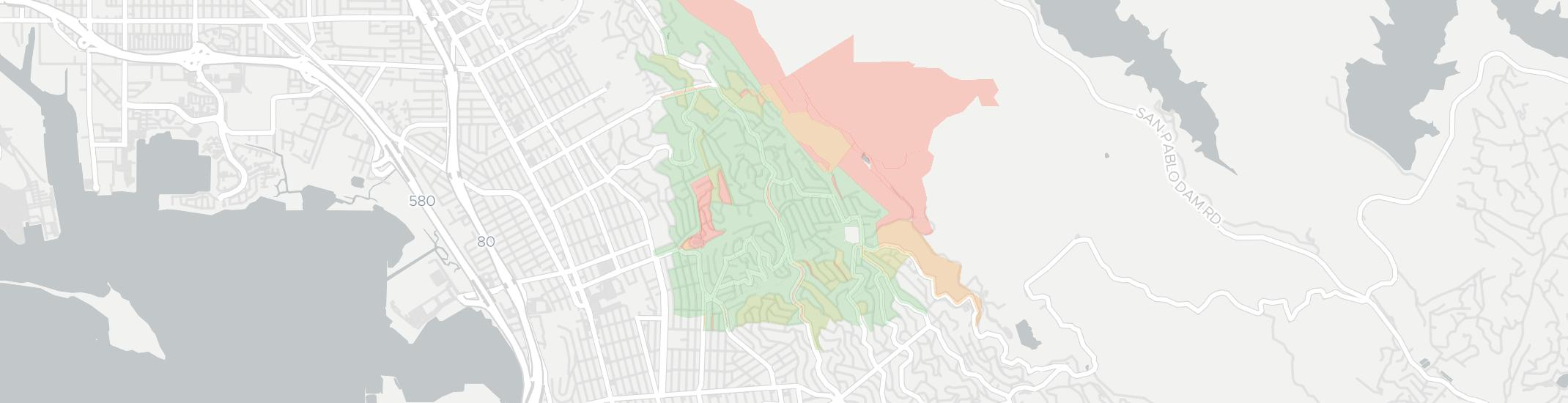 Kensington Internet Competition Map. Click for interactive map.