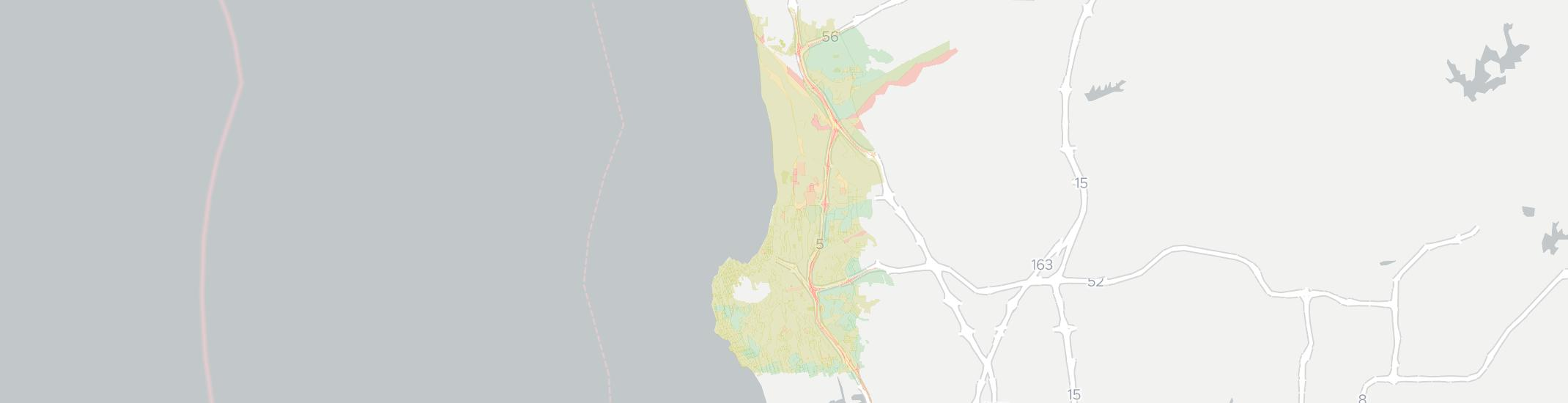 La Jolla Internet Competition Map. Click for interactive map.