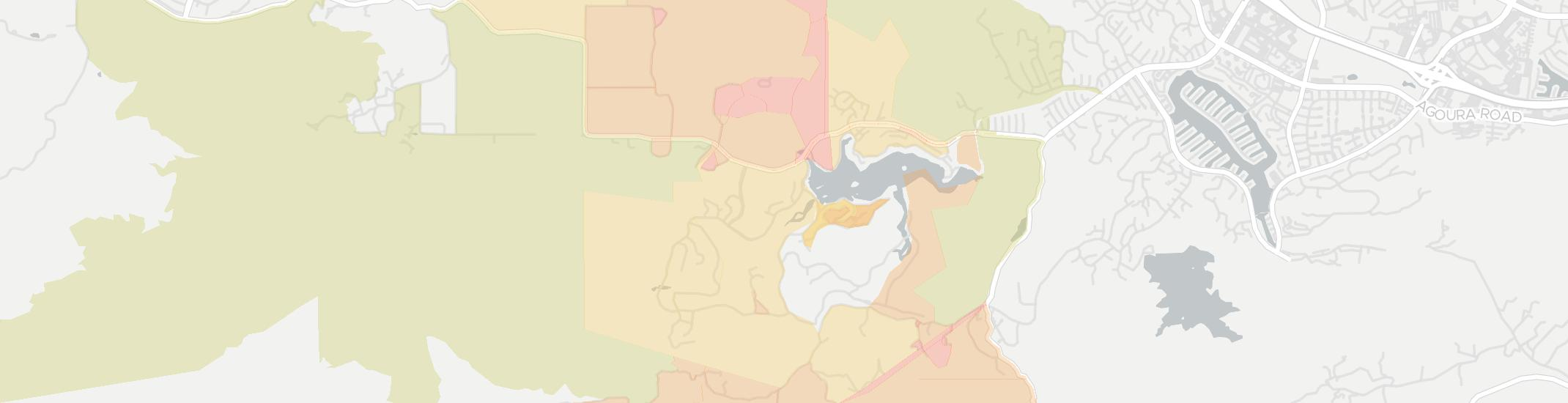 Lake Sherwood Internet Competition Map. Click for interactive map.