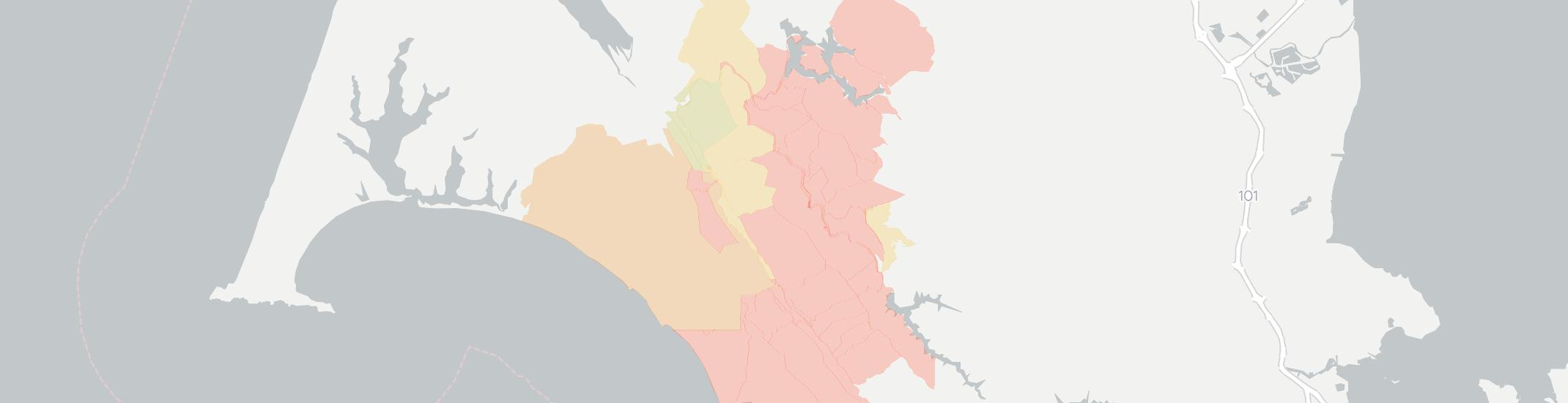 Olema Internet Competition Map. Click for interactive map.