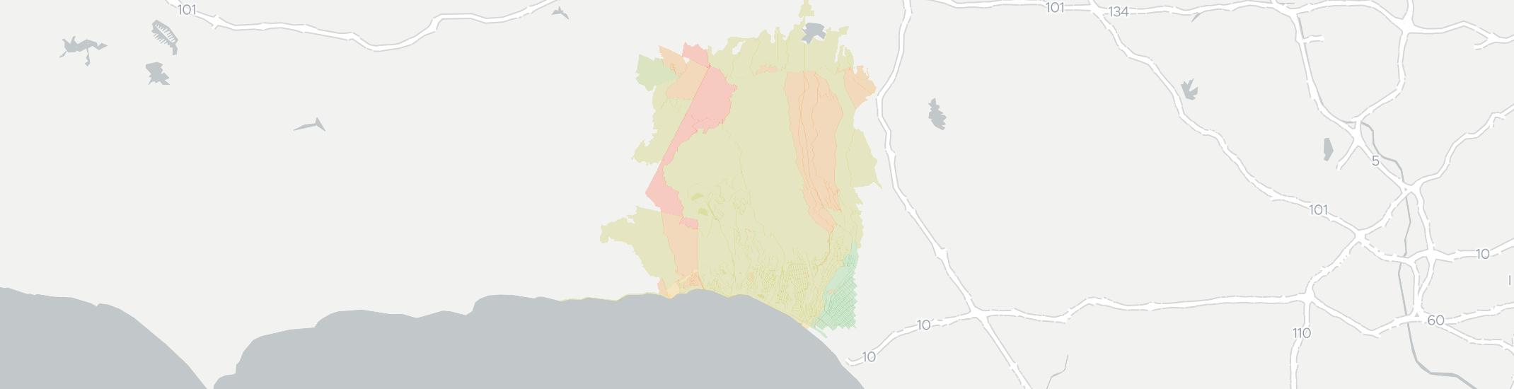 Pacific Palisades Has 16 Internet Service Providers