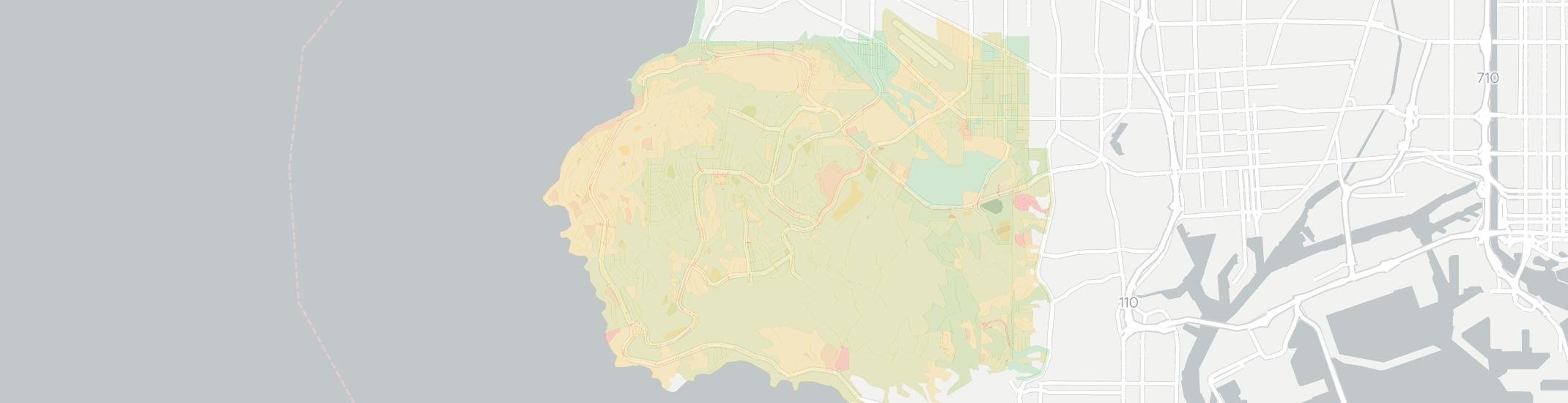 Palos Verdes Peninsula Internet Competition Map. Click for interactive map.
