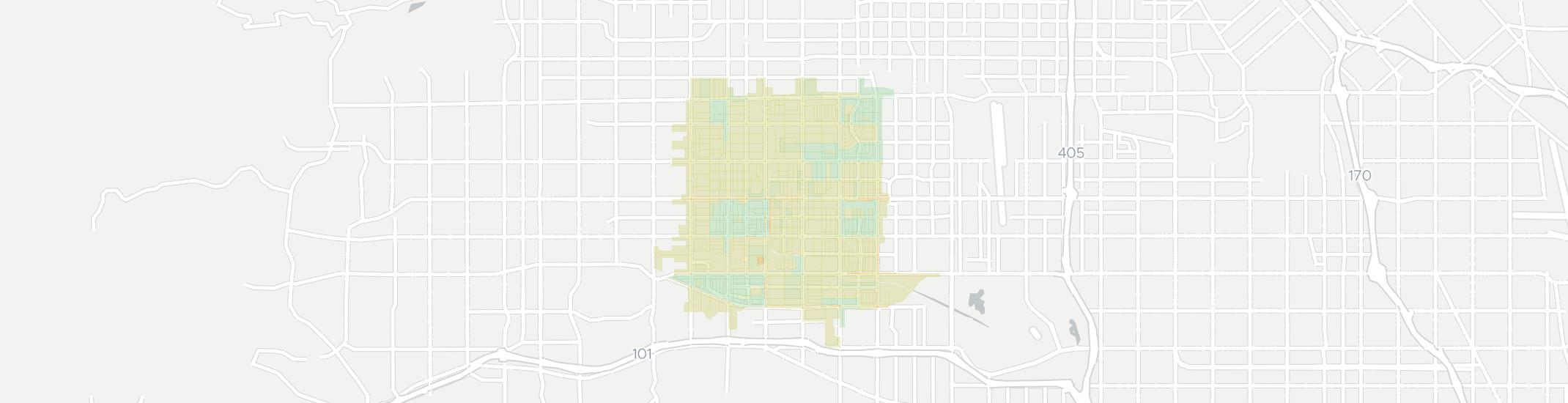 Reseda Internet Competition Map. Click for interactive map.