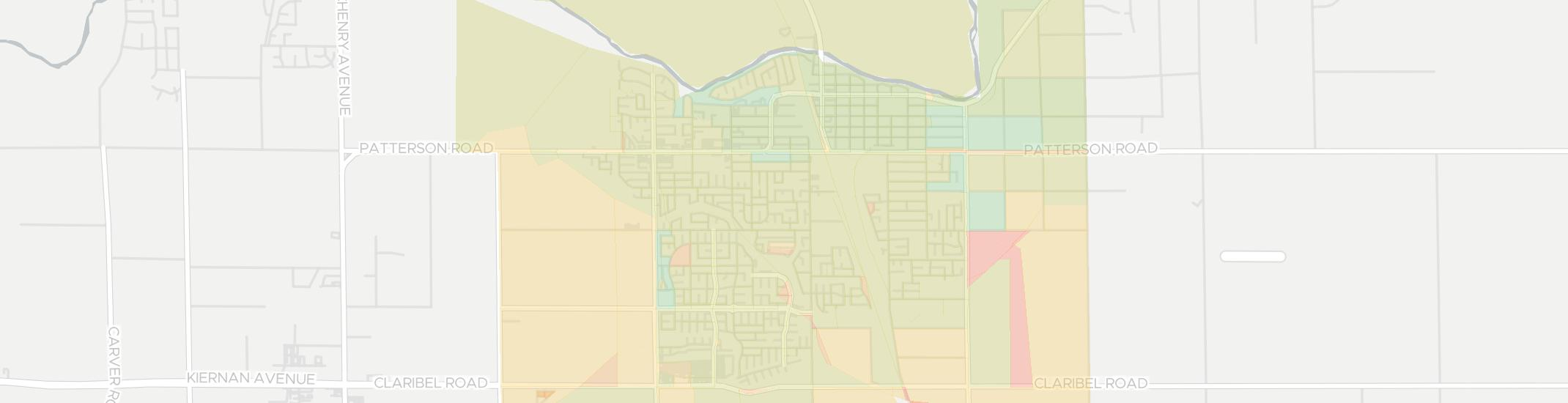 Riverbank Internet Competition Map. Click for interactive map.