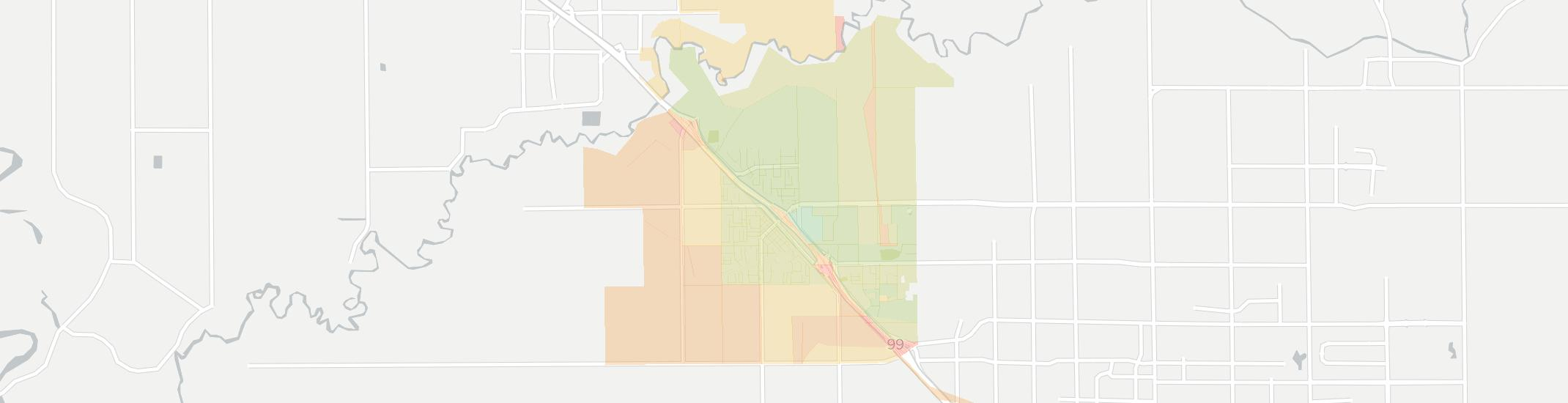 Salida Internet Competition Map. Click for interactive map.