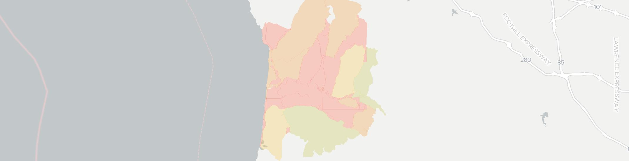 San Gregorio Internet Competition Map. Click for interactive map.
