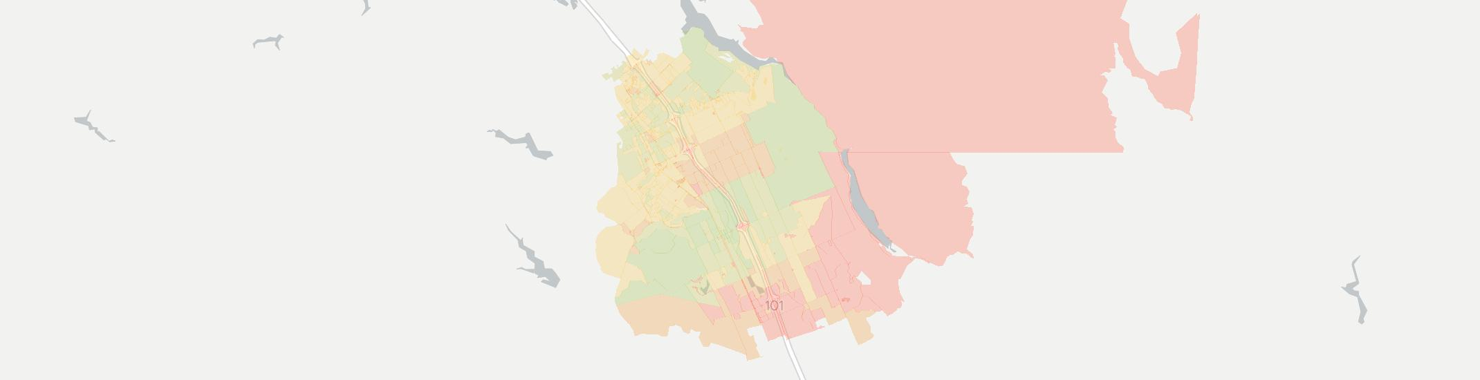 San Martin Internet Competition Map. Click for interactive map.