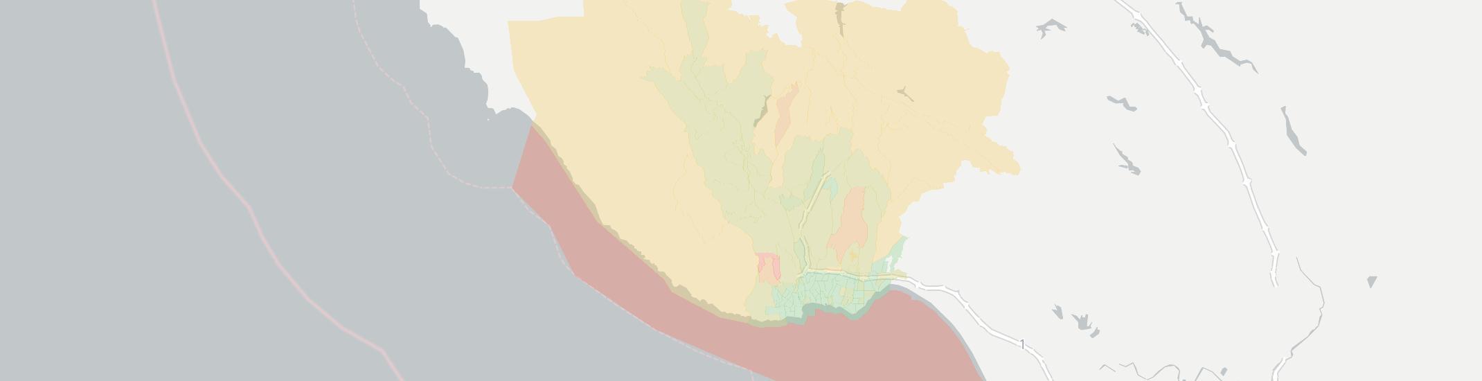 Santa Cruz Internet Competition Map. Click for interactive map.