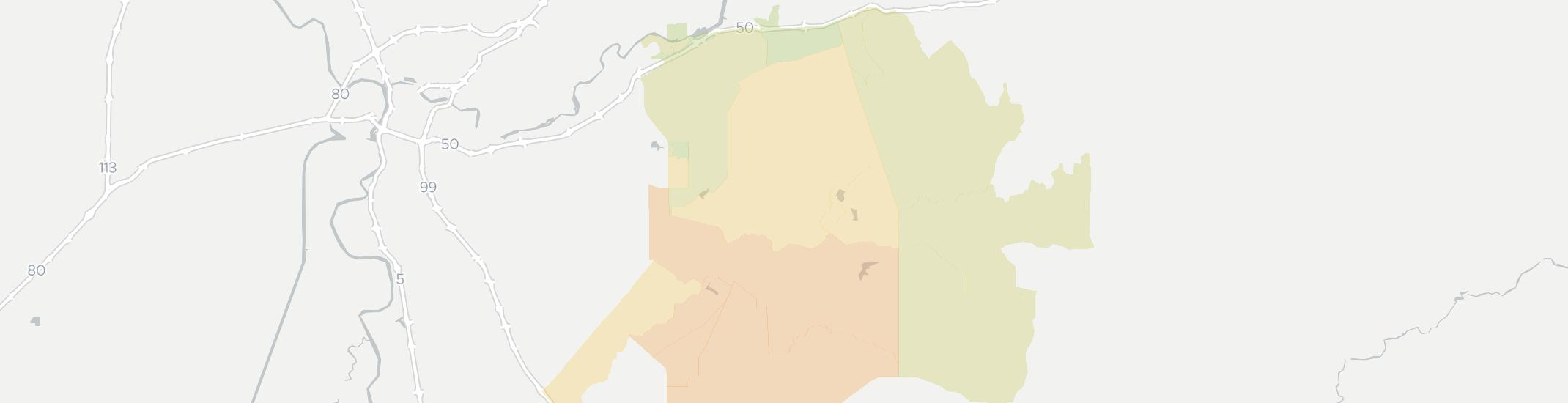 Sloughhouse Internet Competition Map. Click for interactive map.