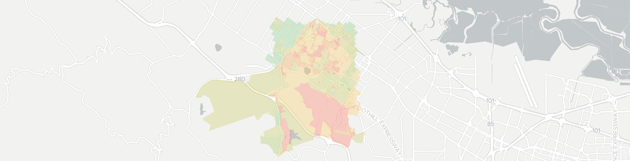 Stanford Internet Competition Map. Click for interactive map.