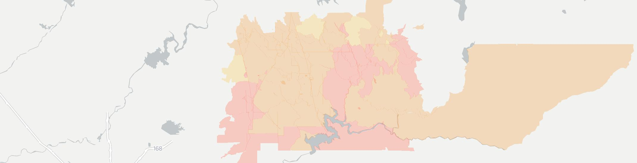 Tollhouse Internet Competition Map. Click for interactive map.