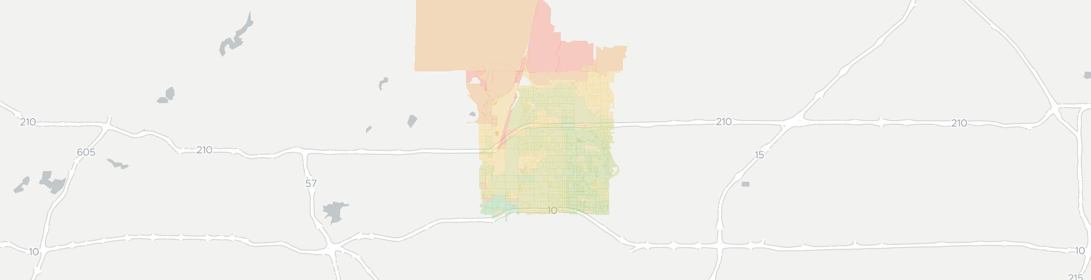 Upland Zip Code Map.Internet Providers In Upland Ca Compare 20 Providers