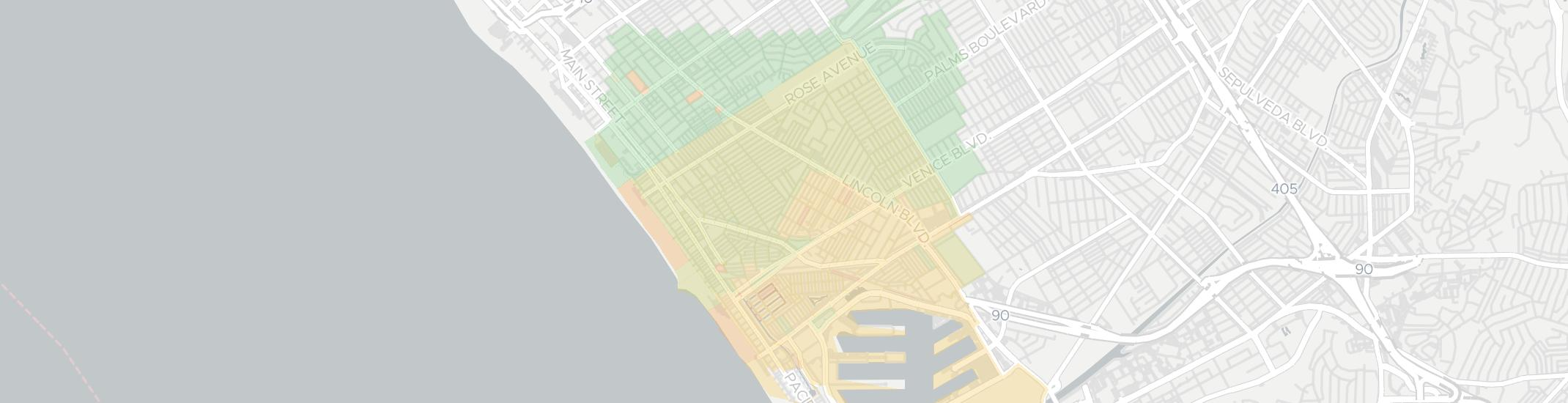 Venice Internet Competition Map. Click for interactive map.