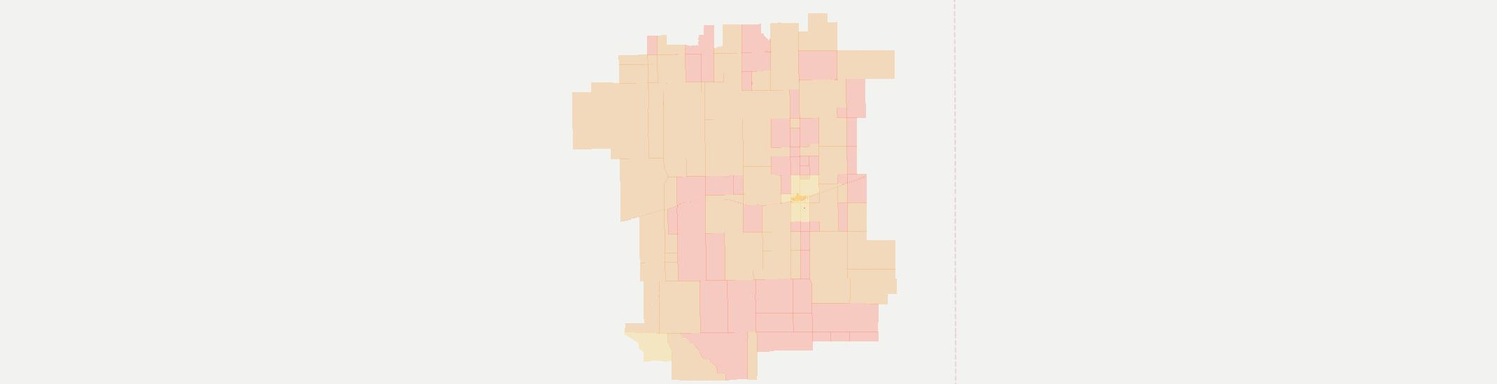 Cheyenne Wells Internet Competition Map. Click for interactive map.