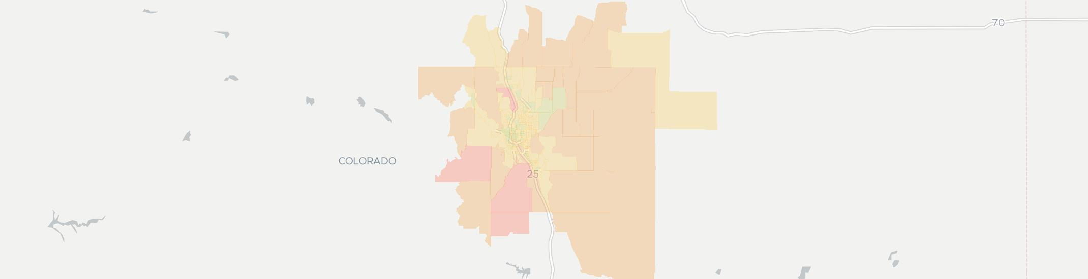 80906 Zip Code Map.Internet Providers In Colorado Springs Compare 29 Internet Providers