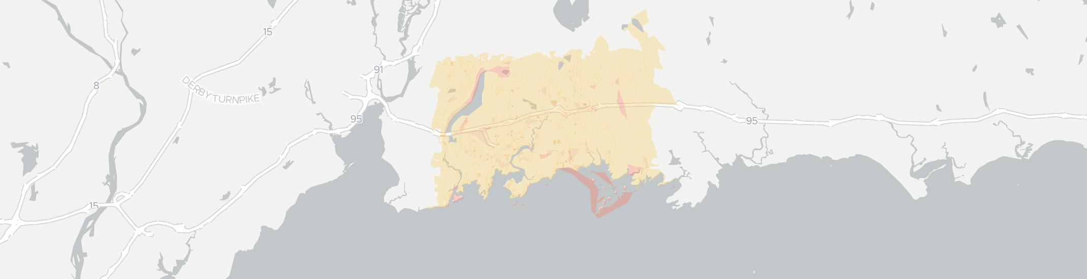Branford Internet Competition Map. Click for interactive map.