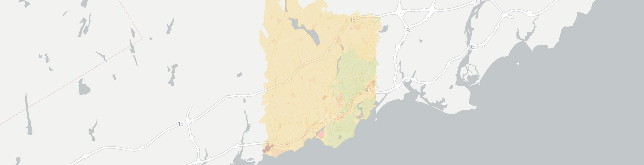 Fairfield Internet Competition Map. Click for interactive map.
