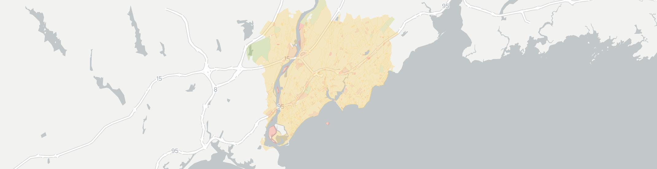 Milford Internet Competition Map. Click for interactive map.