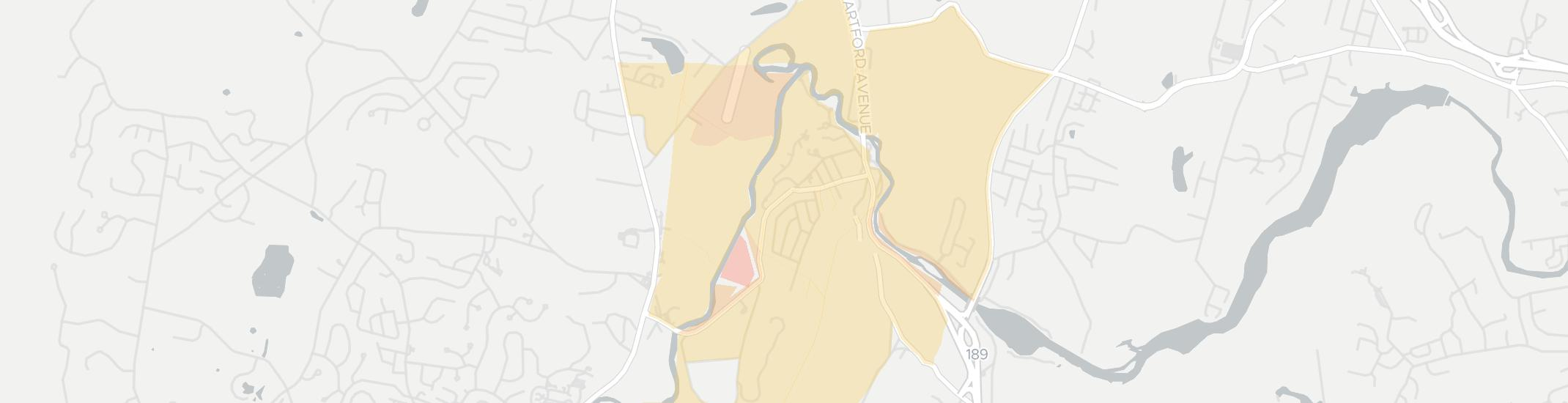 Tariffville Internet Competition Map. Click for interactive map.