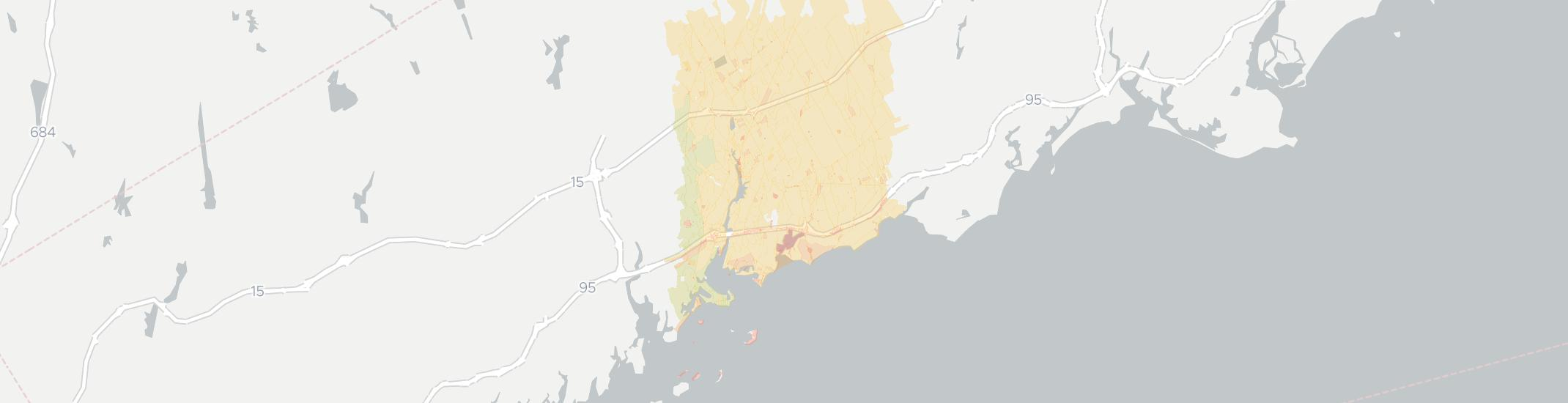 Westport Internet Competition Map. Click for interactive map.